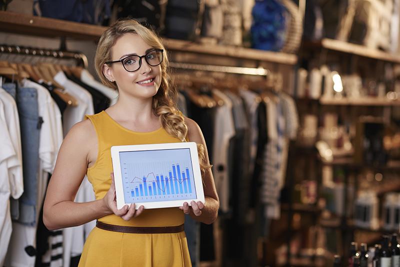 grafica de ventas al modificar precios