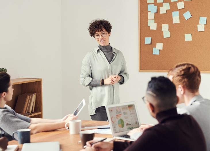 presentación motivación equipo marketing